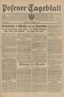 Posener Tageblatt. Jg.71, Nr. 289 (17 Dezember 1932) + dod.