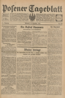 Posener Tageblatt. Jg.71, Nr. 292 (21 Dezember 1932) + dod.