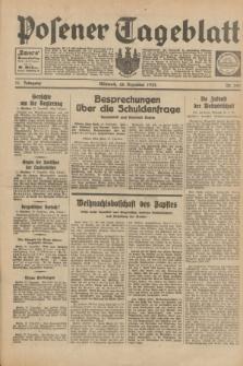 Posener Tageblatt. Jg.71, Nr. 297 (28 Dezember 1932) + dod.