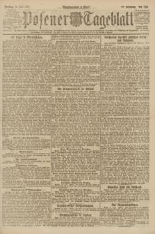 Posener Tageblatt. Jg.60, Nr. 116 (15 Juli 1921)