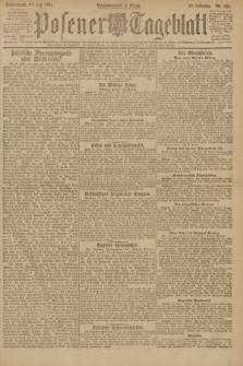 Posener Tageblatt. Jg.60, Nr. 123 (23 Juli 1921)