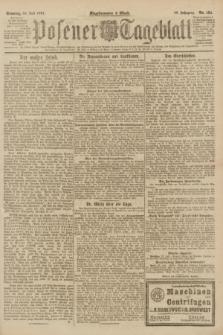 Posener Tageblatt. Jg.60, Nr. 124 (24 Juli 1921) + dod.