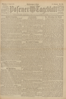 Posener Tageblatt. Jg.60, Nr. 132 (3 August 1921)