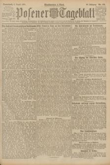 Posener Tageblatt. Jg.60, Nr. 135 (6 August 1921)