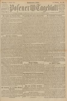 Posener Tageblatt. Jg.60, Nr. 138 (10 August 1921)