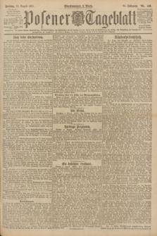 Posener Tageblatt. Jg.60, Nr. 140 (12 August 1921)
