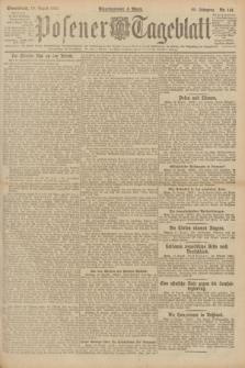 Posener Tageblatt. Jg.60, Nr. 141 (13 August 1921)
