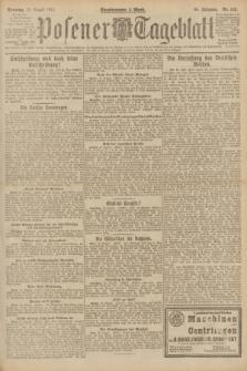 Posener Tageblatt. Jg.60, Nr. 142 (14 August 1921) + dod.