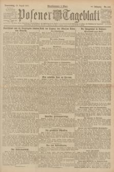 Posener Tageblatt. Jg.60, Nr. 144 (18 August 1921) + dod.