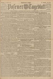 Posener Tageblatt. Jg.60, Nr. 145 (19 August 1921)