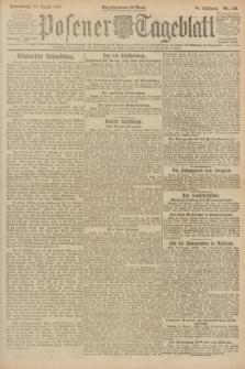 Posener Tageblatt. Jg.60, Nr. 146 (20 August 1921)