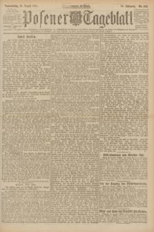Posener Tageblatt. Jg.60, Nr. 150 (25 August 1921) + dod.