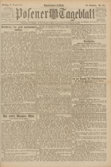 Posener Tageblatt. Jg.60, Nr. 151 (26 August 1921)