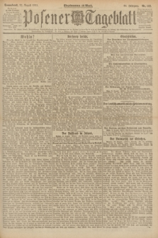 Posener Tageblatt. Jg.60, Nr. 152 (27 August 1921)