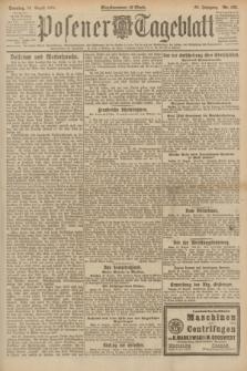Posener Tageblatt. Jg.60, Nr. 153 (28 August 1921) + dod.