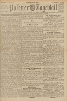 Posener Tageblatt. Jg.60, Nr. 155 (31 August 1921)