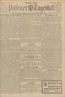 Posener Tageblatt. Jg.60, Nr. 159 (4 September 1921) + dod.