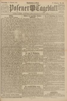 Posener Tageblatt. Jg.60, Nr. 168 (15 September 1921)