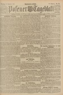 Posener Tageblatt. Jg.60, Nr. 172 (20 September 1921)
