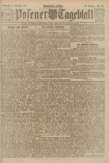 Posener Tageblatt. Jg.60, Nr. 173 (21 September 1921)