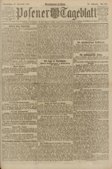 Posener Tageblatt. Jg.60, Nr. 174 (22 September 1921) + dod.