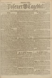 Posener Tageblatt. Jg.60, Nr. 175 (23 September 1921)