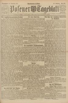 Posener Tageblatt. Jg.60, Nr. 176 (24 September 1921)