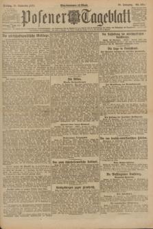 Posener Tageblatt. Jg.60, Nr. 181 (30 September 1921)