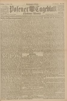 Posener Tageblatt (Posener Warte). Jg.60, Nr. 187 (7 Oktober 1921)