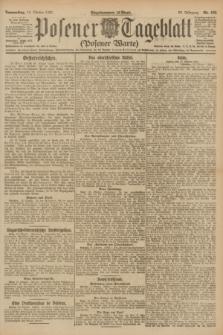 Posener Tageblatt (Posener Warte). Jg.60, Nr. 192 (13 Oktober 1921)