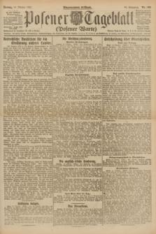 Posener Tageblatt (Posener Warte). Jg.60, Nr. 193 (14 Oktober 1921)