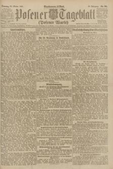 Posener Tageblatt (Posener Warte). Jg.60, Nr. 201 (23 Oktober 1921) + dod.