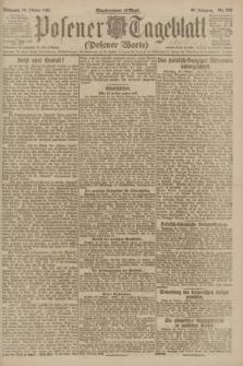 Posener Tageblatt (Posener Warte). Jg.60, Nr. 203 (26 Oktober 1921)