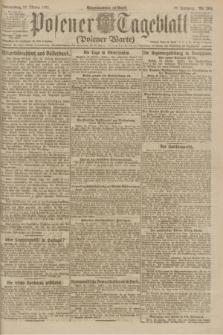 Posener Tageblatt (Posener Warte). Jg.60, Nr. 204 (27 Oktober 1921)