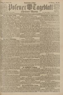 Posener Tageblatt (Posener Warte). Jg.60, Nr. 205 (28 Oktober 1921)