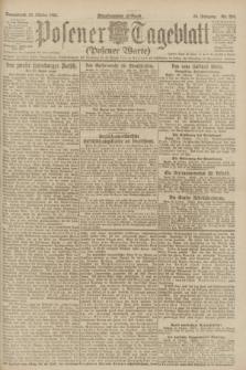 Posener Tageblatt (Posener Warte). Jg.60, Nr. 206 (29 Oktober 1921)