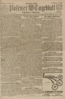 Posener Tageblatt (Posener Warte). Jg.60, Nr. 207 (30 Oktober 1921) + dod.