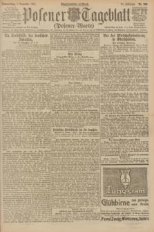 Posener Tageblatt (Posener Warte). Jg.60, Nr. 209 (3 November 1921) + dod.