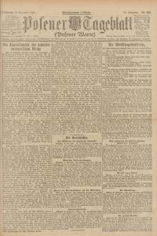 Posener Tageblatt (Posener Warte). Jg.60, Nr. 225 (23 November 1921)