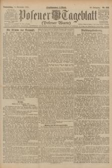 Posener Tageblatt (Posener Warte). Jg.60, Nr. 226 (24 November 1921)