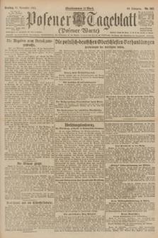 Posener Tageblatt (Posener Warte). Jg.60, Nr. 227 (25 November 1921)