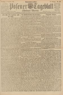 Posener Tageblatt (Posener Warte). Jg.60, Nr. 229 (27 November 1921) + dod.