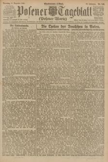 Posener Tageblatt (Posener Warte). Jg.60, Nr. 240 (11 Dezember 1921) + dod.