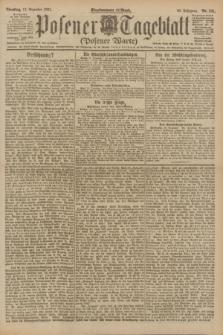 Posener Tageblatt (Posener Warte). Jg.60, Nr. 241 (13 Dezember 1921)