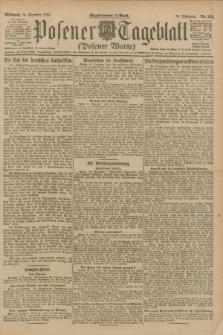 Posener Tageblatt (Posener Warte). Jg.60, Nr. 242 (14 Dezember 1921)