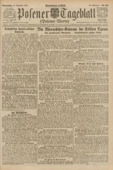 Posener Tageblatt (Posener Warte). Jg.60, Nr. 243 (15 Dezember 1921)