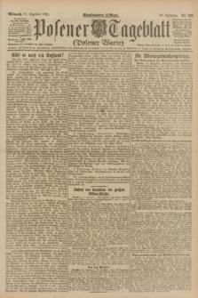 Posener Tageblatt (Posener Warte). Jg.60, Nr. 248 (21 Dezember 1921)