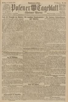 Posener Tageblatt (Posener Warte). Jg.60, Nr. 250 (23 Dezember 1921)