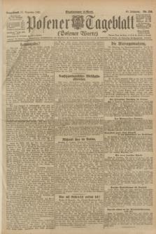 Posener Tageblatt (Posener Warte). Jg.60, Nr. 256 (31 Dezember 1921)