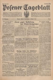 Posener Tageblatt. Jg.77, Nr. 4 (6 Januar 1938) + dod.